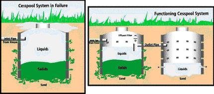 Cesspool treatment amerisep for Septic tank basics